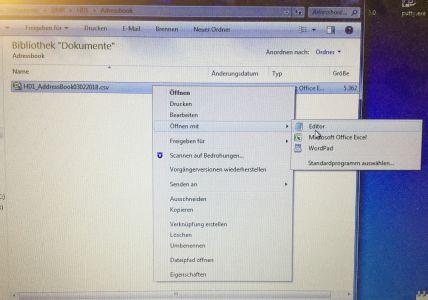 Ailunce HD1 Adressbuch-Import-Probleme mit CPS größer 1 90 - NDR BSG-AFU