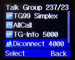 m Menü List TG4000